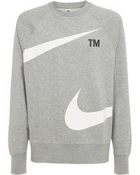 "Nike Sweatshirt ""swoosh"" - Grau"