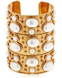 Sylvia Toledano | Manchette Byzance Pearl Cuff Bracelet | Lyst