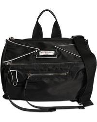 "Givenchy Tasche Aus Nylon Mit Logo ""pandoro"" - Schwarz"