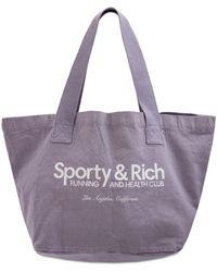 Sporty & Rich Clubtasche, Lvr Exclusive - Lila