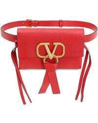 Valentino Garavani - Red Valentino Garavani Vring Belt Bag - Lyst