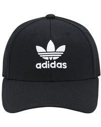 adidas Originals Бейсбольная Кепка Classic Trefoil - Черный