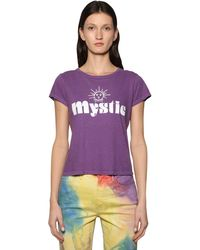Mother Mystical コットンtシャツ - パープル