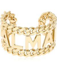 Balmain - Chain Logo Bracelet - Lyst