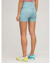 Nike 5' Yoga-shorts - Blau