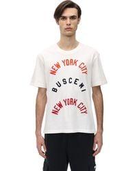 Buscemi - コットンツイルtシャツ - Lyst
