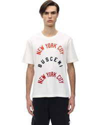 Buscemi コットンツイルtシャツ - ホワイト