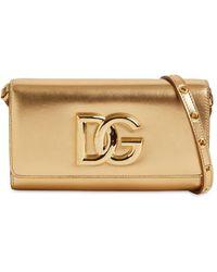Dolce & Gabbana Кожаная Сумка Dg Millennials - Многоцветный