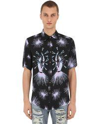 Mauna Kea Hula プリントシャツ - ブラック