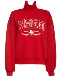 MSGM New College スウェットシャツ - レッド