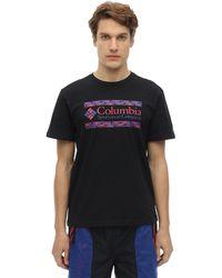 Columbia Rapid Ridge Graphic コットンtシャツ - ブラック