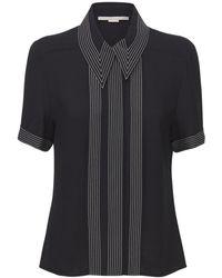Stella McCartney ビスコースシャツ - ブラック