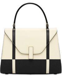 Valextra Lvr Exclusive Mini Iside Top Handle Bag Pergaa/nera Unique - Multicolor