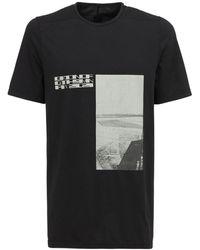 Rick Owens DRKSHDW - Drkshdw Level T ジャージーtシャツ - Lyst
