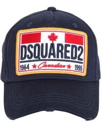 """DSquared² - Cappello Baseball """"canadian Flag"""" In Cotone - Lyst"""