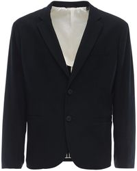 Armani Exchange ジャージーツイルジャケット - ブルー