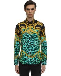 Versace Jeans Couture - プリントシャツ - Lyst