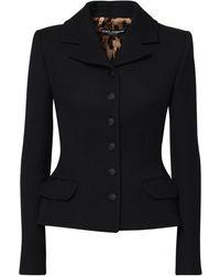 Dolce & Gabbana - ウールクレープジャケット - Lyst