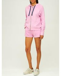 Electric and Rose Quimby Zip-up Hoodie - Pink