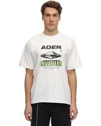 ADER error - コットンジャージーtシャツ - Lyst