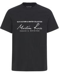 Martine Rose - Season コットンジャージーtシャツ - Lyst