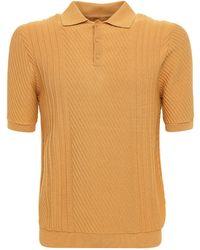 Wax London - Рубашка-поло Из Хлопка Стрейч - Lyst