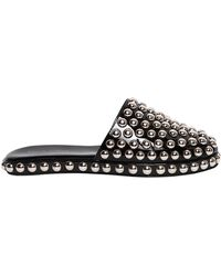 Jeffrey Campbell - 10mm Studded Patent Leather Mules - Lyst