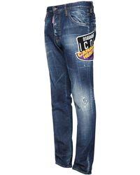 DSquared² 16.5cm Jeans Aus Denim - Blau