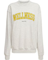 "Sporty & Rich Sweatshirt ""wellness Ivy"" - Grau"