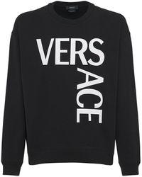Versace - Хлопковый Свитшот С Принтом Логотипа - Lyst