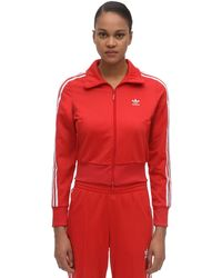 adidas Originals Firebird Striped Track Jacket - Red