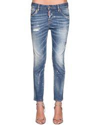 DSquared² Jeans Cool Girl In Denim - Blu