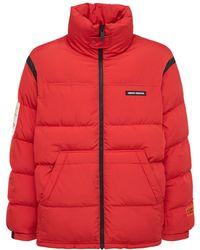 Heron Preston Куртка Из Нейлона - Красный