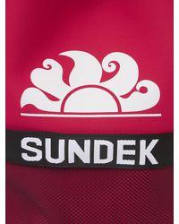 Sundek Logo Print Neoprene Sac Backpack - Multicolour