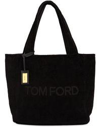 Tom Ford Бархатная Сумка - Черный