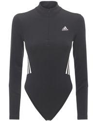 adidas Originals Mesh Bodysuit - Black