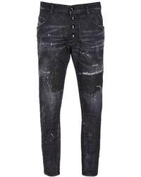 DSquared² Jeans Skater In Denim Icon 16cm - Nero