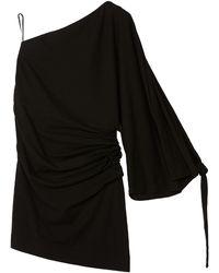 Loewe Paula's Ibiza ストレッチジャージーミニドレス - ブラック