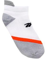 Reebok X Victoria Beckham Logo Running Socks - White