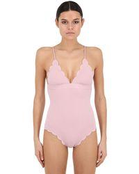 Marysia Swim Santa Clara Maillot One Piece Swimsuit - Pink