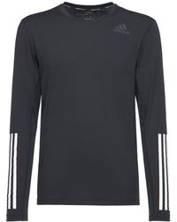 adidas Originals Techfit 長袖フィットtシャツ - ブラック