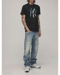 "KTZ T-shirt Mit Camo-logo ""mlb Ny Yankees"" - Schwarz"