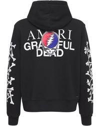 Amiri Grateful Dead Bones ジャージーフーディー - ブラック