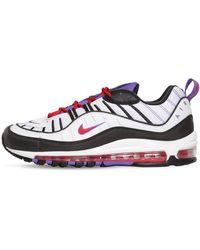Nike Baskets noires et blanches Air Max 98