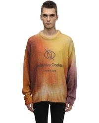 Palm Angels Pullover Aus Wolle Und Mohair - Mehrfarbig