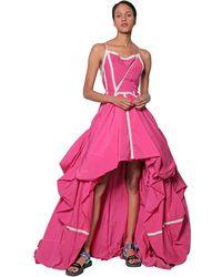 Off-White c/o Virgil Abloh Платье Из Нейлона - Розовый