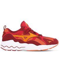 "Mizuno Sneakers ""wave Rider 1s"" - Rouge"