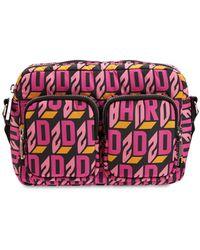 DSquared² Сумка Из Нейлона С Логотипом - Розовый