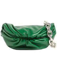 Bottega Veneta Сумка Из Гладкой Кожи - Зеленый