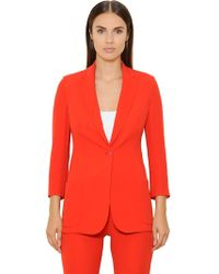 Akris - Silk Crepe Georgette Jacket - Lyst
